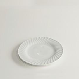 Großer Teller mit Rillen