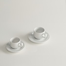 Kaffeetasse + Untertasse