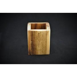 Besteckbehälter Holz